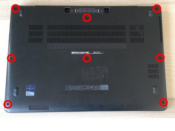 Dell Latitude E7470 SSD Replacement