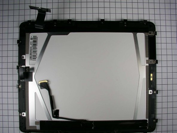 The inner side of the display assembly.