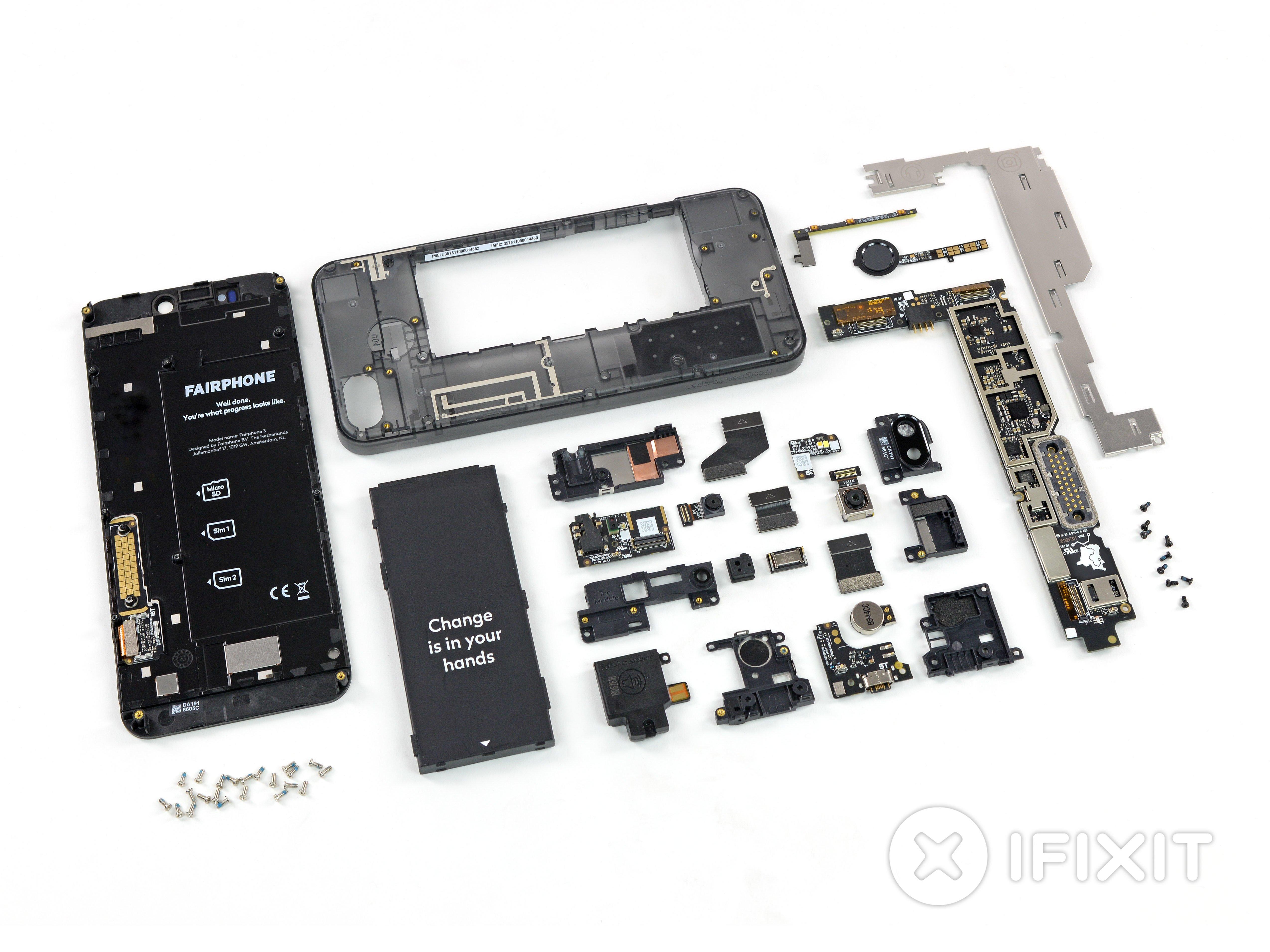 Fairphone 3 Teardown