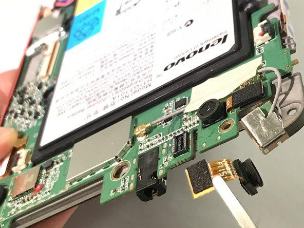 Remplacement de la caméra avant du Lenovo Ideatab A1107