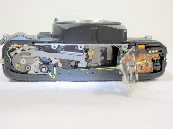 Removing Minolta X-370 Bottom Cover