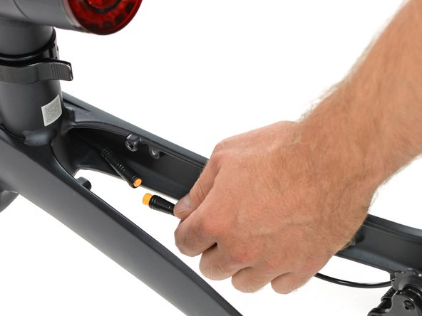 Of course we wouldn't be tearing this bike down if it weren't a smart bike. So it's about time we check out the speed sensor.
