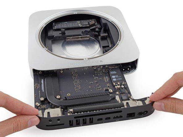 Sostituzione scheda logica Mac Mini, versione fine 2014