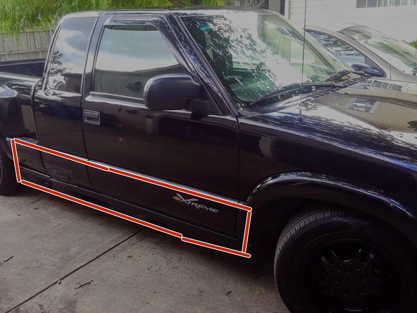 Chevy s10 extreme pickup truck 1999