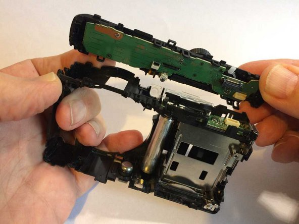 Panasonic Lumix DMC-TZ35 Top assembly removal/replacement