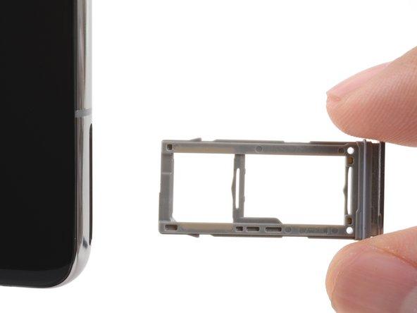 Reemplazo de la tarjeta SIM del Samsung Galaxy S10