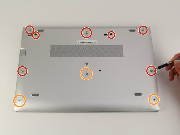 HP EliteBook 840 G5 Back Cover Replacement