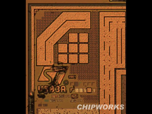 Accelerometer (confirmed by die markings of ASIC and MEMS device) - STM-LIS331DLH.