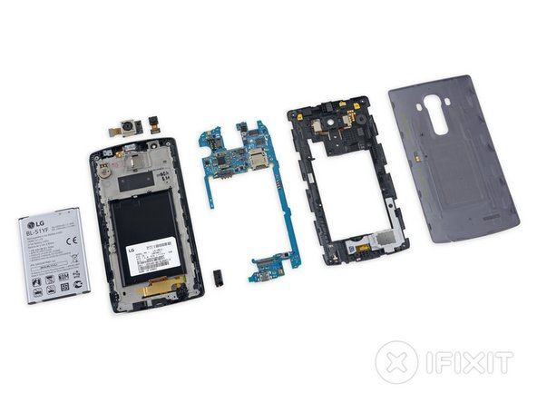 LG G4 Repairability Score: 8 out of 10 (10 is easiest to repair).