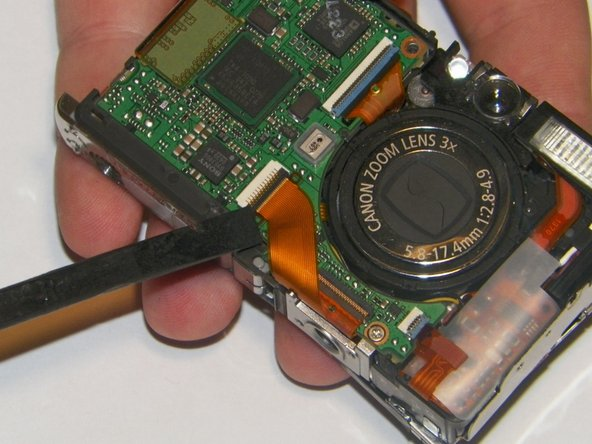 Canon PowerShot SD 600 LCD Screen Replacement