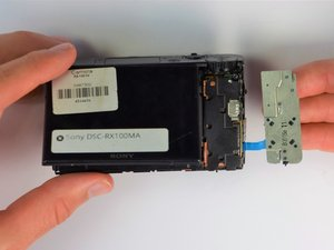 Sony DSC-RX100MA Screen Replacement