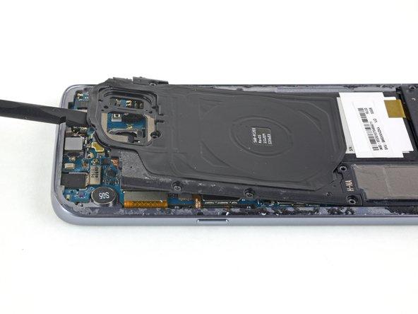 Ensamblaje de bobina de carga y antena NFC del Samsung Galaxy NFC