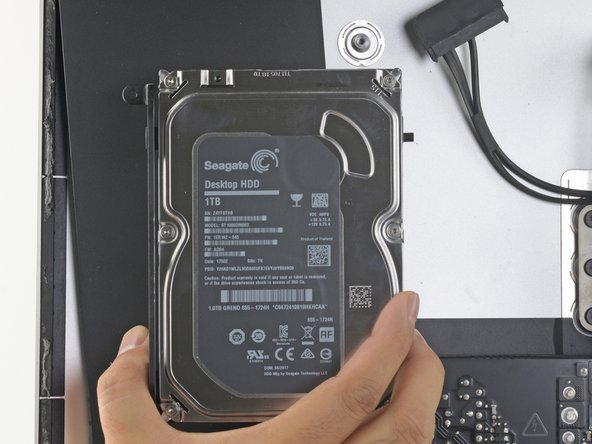 iMac Intel Speaker Displacement for HDD Guides