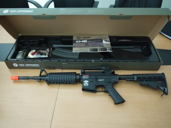 G&G CM16 Carbine Airsoft Disassembly