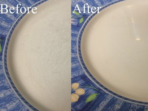 How to Remove Dinner Plate Scratches
