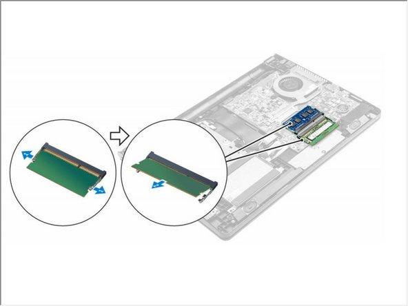 Dell Vostro 15 3565 Memory Module Replacement