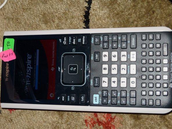Texas Instruments TI-Nspire CX Defective Button Repair