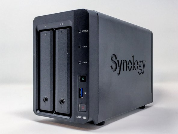 Synology DS718+ - Démontage complet