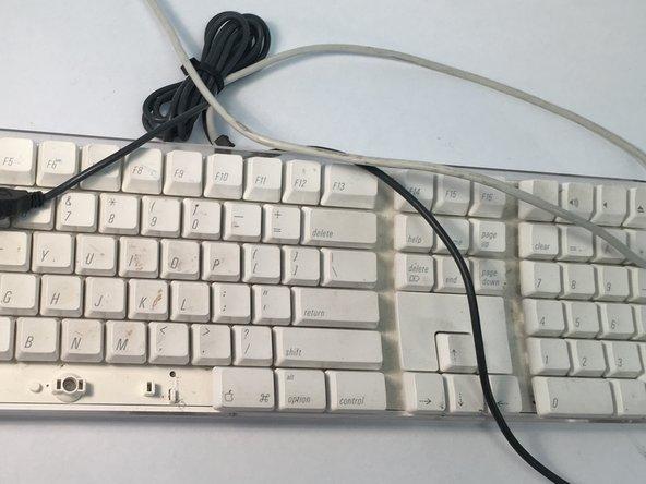 The full keyboard