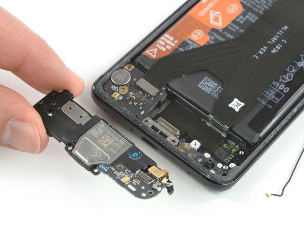 Huawei Mate 20 Pro Vervanging van de luidspreker met dochterbord
