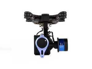 How to install 3DRobotics Iris Plus gimbal