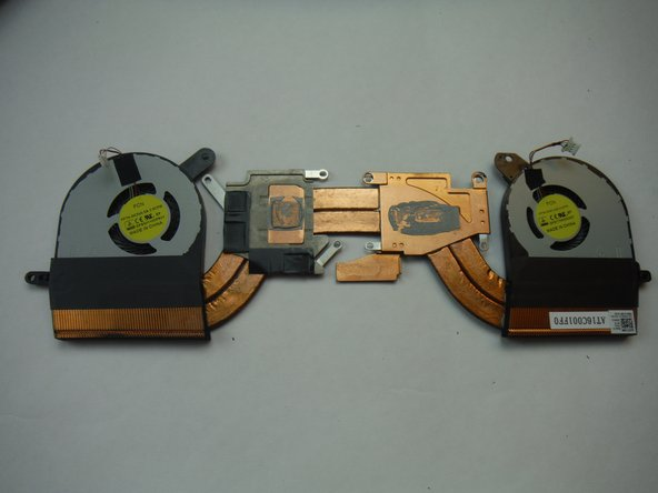 Dell Alienware 13 Heat-sink Assembly Replacement