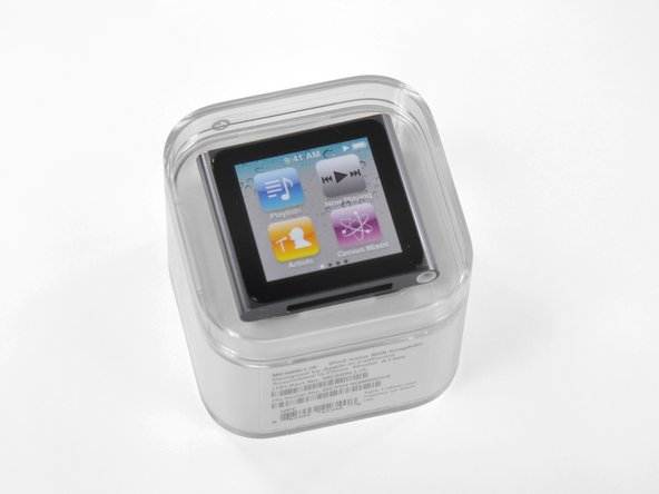 We finally have our hands on the new multi-touch iPod Nano!
