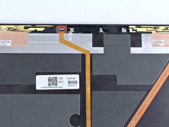Lenovo ThinkPad T480s Camera Replacement