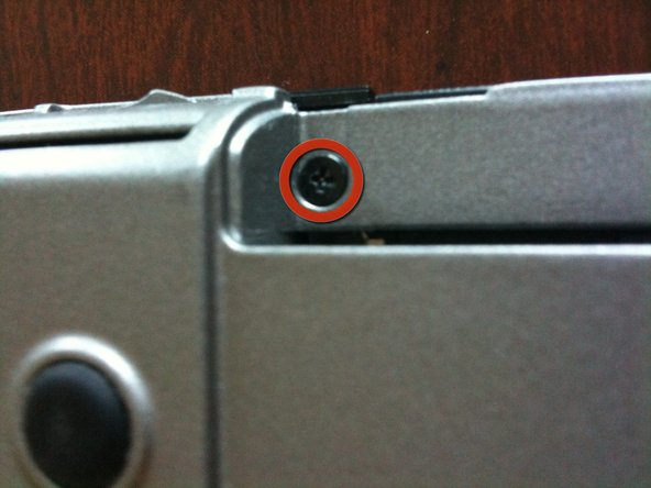 Remove all of the remaining screws on the laptop with a Phillips screwdriver.