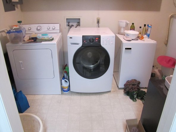 LIGHTS... CAMERA... ACTION! We have lights on the washer!