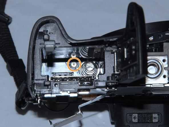 Remove 1 screw in battery bay.