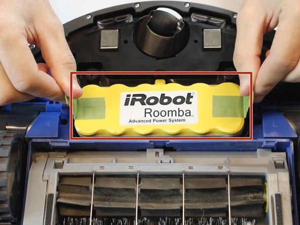 iRobot Roomba 630 Battery Replacement