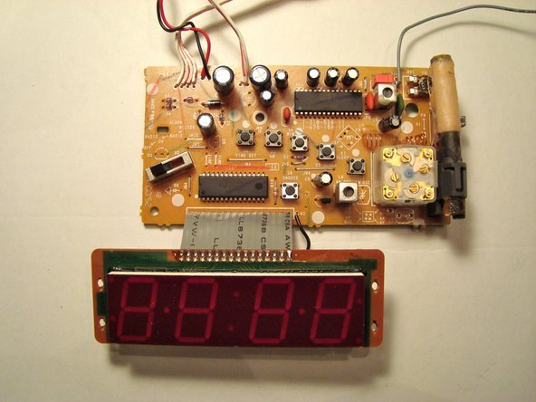 Here are some pictures of the circuit board.