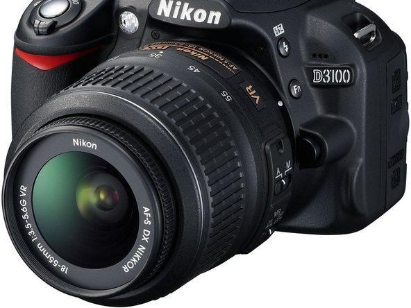 Repairing Nikon D3100 Autofocus