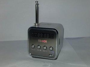 TD-V26 Speaker and Antenna
