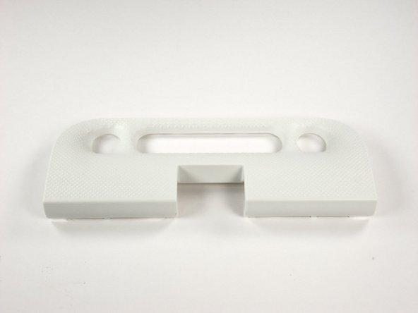 White plastic panel