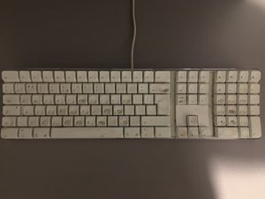 Basic cleaning for the A1048 Keyboard
