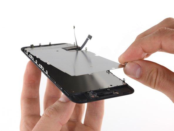 Remplacement de la plaque de protection de l'écran LCD de l'iPhone 7