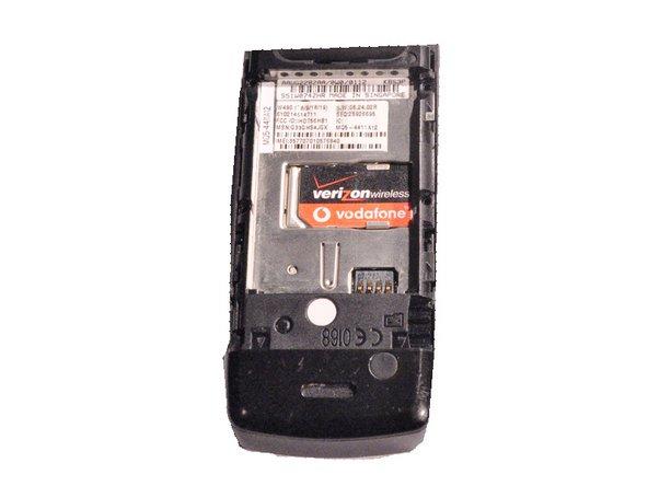Motorola W490 SIM Card Replacement