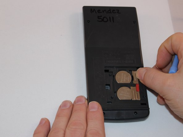 Remove battery cover.