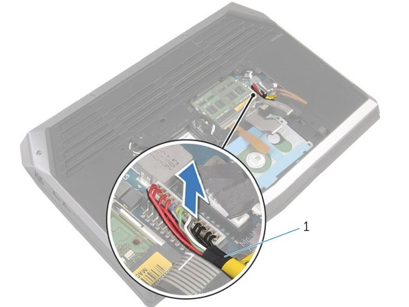 You don't need to disconnect the laptop's battery if you are only replacing the back panel: only perform this step if you will be handling or replacing the electrical components of the computer.