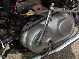 AJS/Matchless Lightweight Gearbox Removal