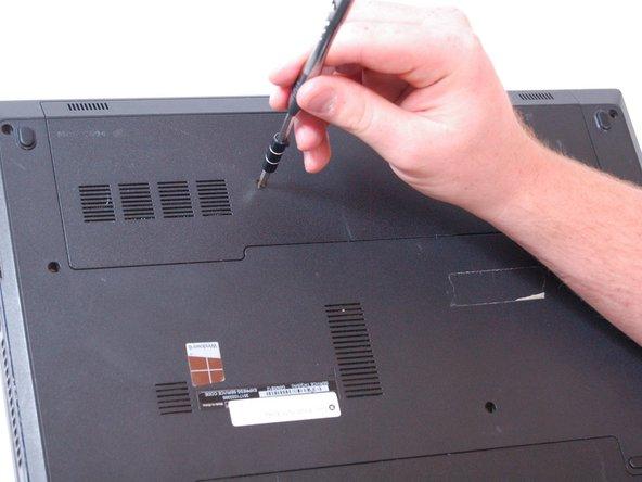 Remove the screw. (1 x M2 x 3mm)