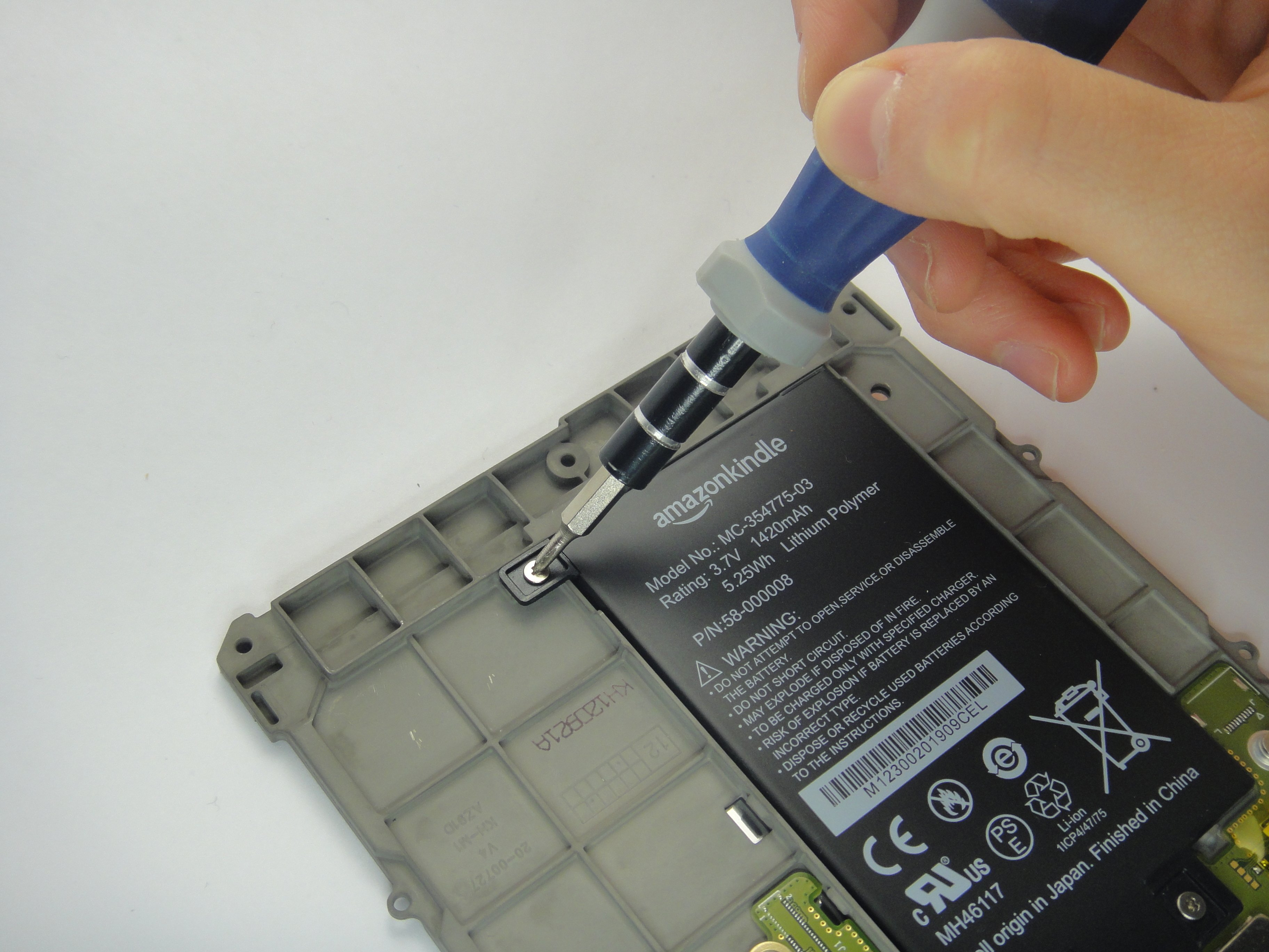 Kindle Paperwhite 40st Generation Battery Replacement   iFixit ...