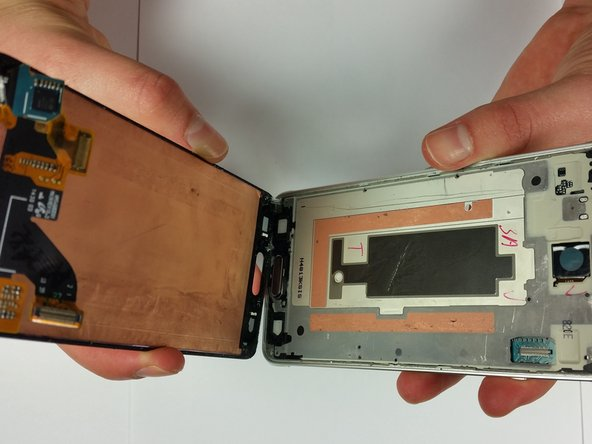 Samsung Galaxy Alpha Display Assembly Replacement