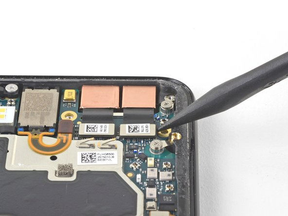 Use the point of a spudger to pry up and disconnect the connector for the camera(s) you are replacing.