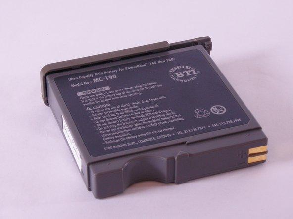 Macintosh PowerBook 165c Battery Replacement