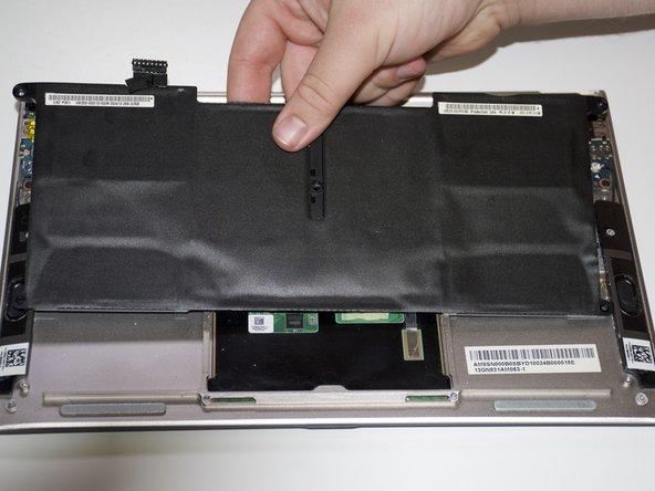 Asus Zenbook UX21e Battery Replacement