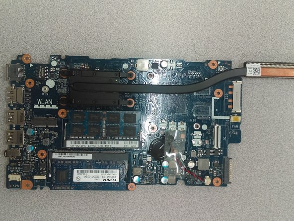 Dell Inspiron 15-5547 Motherboard Replacement