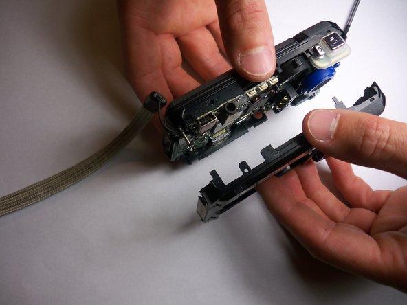 Disassembling Jazz HDV178 Camcorder Pulling camcorder apart